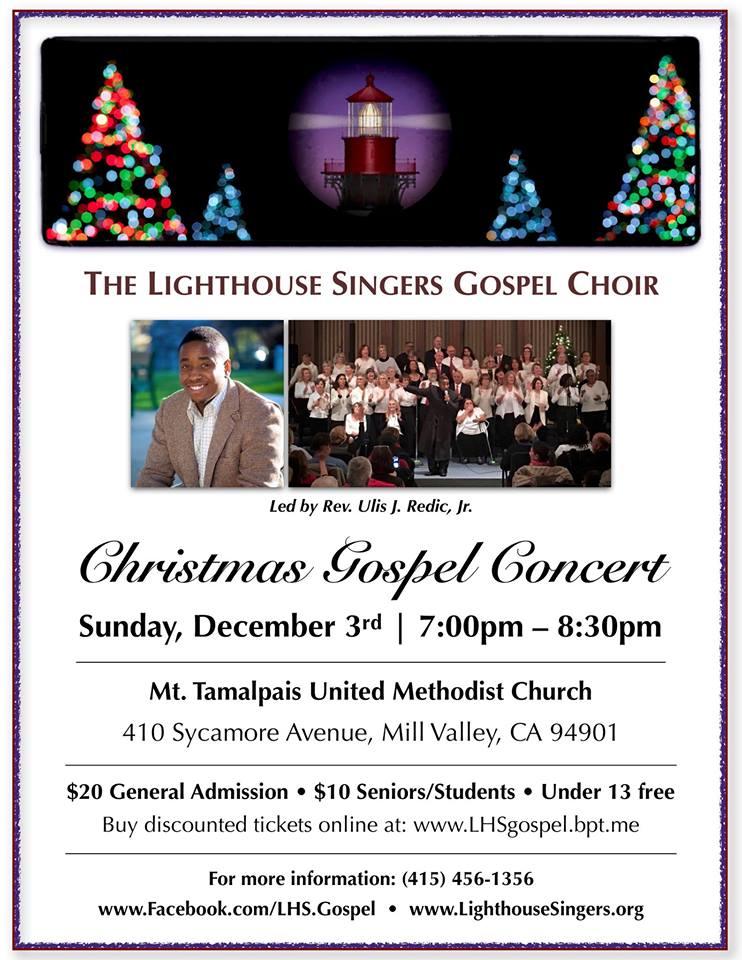 Christmas Concerts Near Me.The Lighthouse Gospel Christmas Concert Marin Interfaith